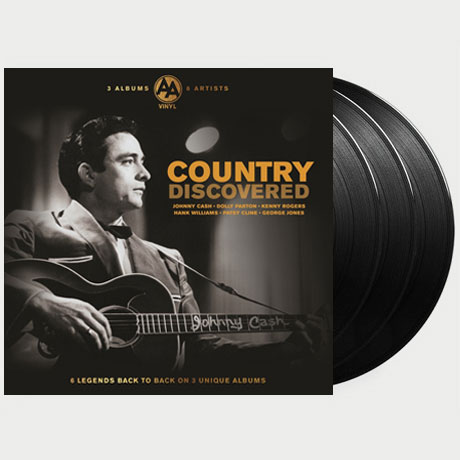 COUNTRY DISCOVERED: 3 ALBUMS 6 ARTISTS [LP]