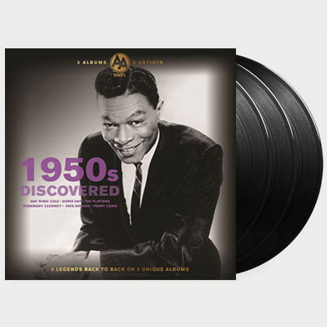1950S DISCOVERED: 3 ALBUMS 6 ARTISTS [LP]