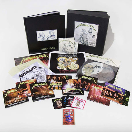 ...AND JUSTICE FOR ALL [REMASTERED] [6LP+11CD+4DVD] [SUPER DELUXE BOX]