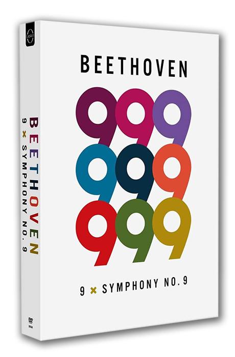 """9 X SYMPHONY NO.9 [베토벤: 교향곡 9번 """"합창교향곡"""" - 9명의 지휘자]"""