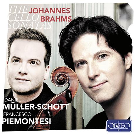 THE CELLO SONATAS/ DANIEL MULLER-SCHOTT, FRANCESCO PIEMONTESI [브람스: 첼로 소나타 1, 2번, 바이올린 소나타 1번(첼로 편곡) - 다니엘 뮐러 쇼트]