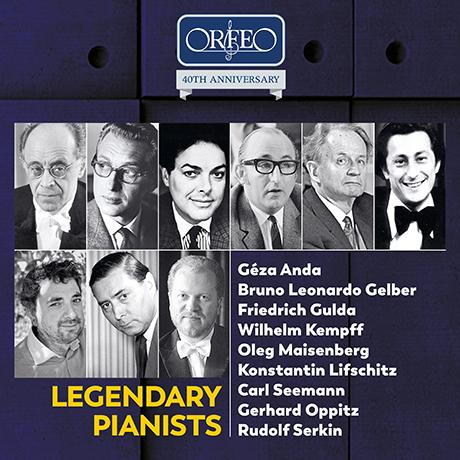 오르페오 40주년 - 전설적인 피아니스트들