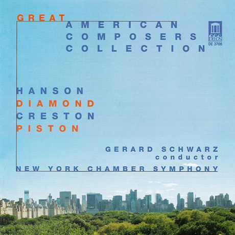 GREAT AMERICAN COMPOSERS COLLECTION/ GERARD SCHWARZ