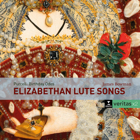 ELIZABETHAN LUTE SONGS & PURCELL: BIRTHDAY ODES FOR QUEEN MARY/ JAMES BOWMAN, DAVID MUNROW [VERITAS X2] [엘리자베스 시대 류트음악 & 퍼셀: 메리여왕 생일을 위한 송가]