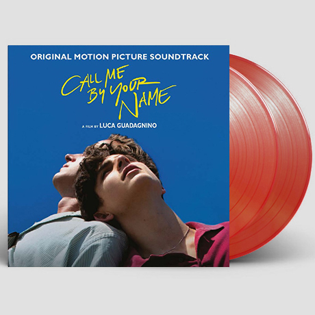 CALL ME BY YOUR NAME [콜 미 바이 유어 네임] [한정반] [180G TRANSPARENT RED LP]