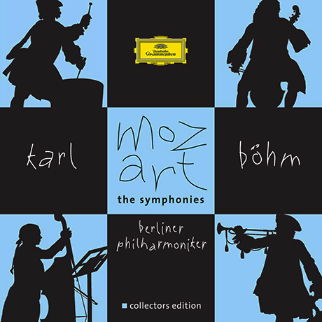 THE SYMPHONIES/ BERLINER PHILHARMONIKER, KARL BOHM [모차르트: 교향곡 전 집 - 칼 뵘]
