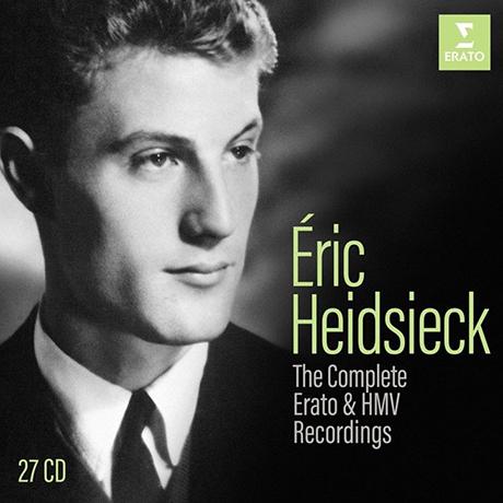 THE COMPLETE ERATO & HMV RECORDINGS [에릭 하이드시에크: 에라토, HMV 녹음 전집]