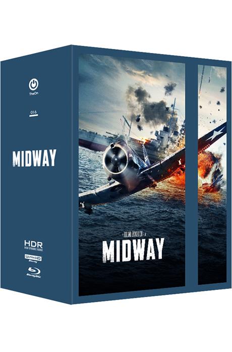 미드웨이 4K UHD+BD [스틸북 원클릭 박스 한정판] [MIDWAY]