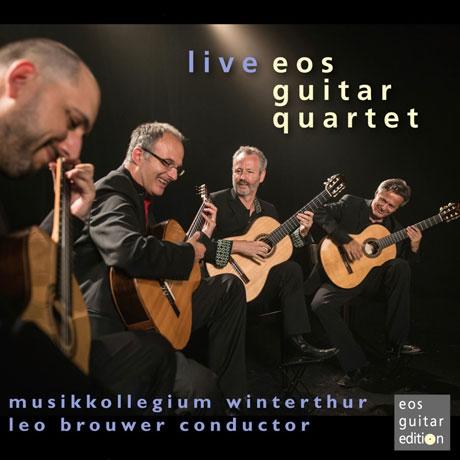 LIVE: BROUWER, GISMNTI, TOWNER/ EOS GUITAR QUARTET [에오스 기타 사중주단: 브라우어, 지스몬티, 타우너]