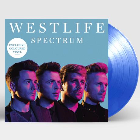 SPECTRUM [TRANSPARENT BLUE LP]