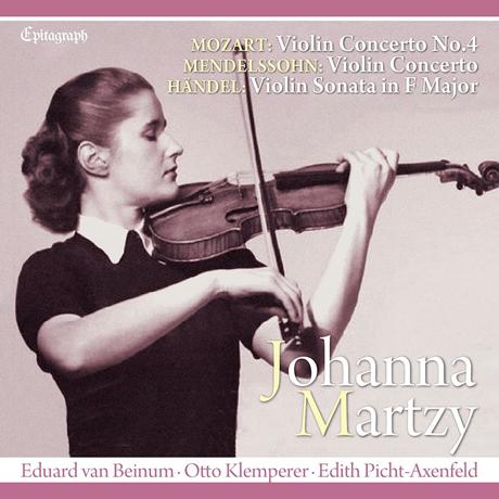 MOZART, MENDELSSOHN VIOLIN COCERTOS & HANDEL SONATA [UHQ-CD] [모차르트, 멘델스존: 바이올린 협주곡 & 헨델: 바이올린 소나타 - 요한나 마르치]