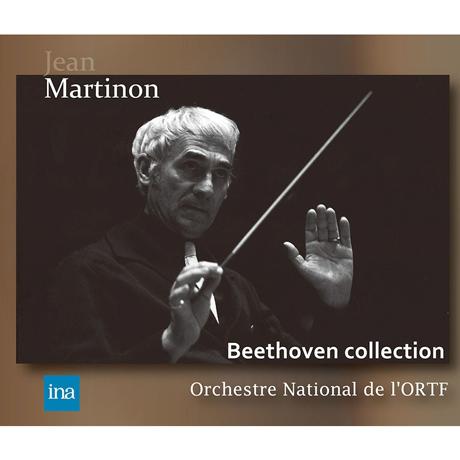 LIVE RECORDINGS/ JEAN MARTINON [베토벤: 교향곡 외: 프랑스 국립 방송 교향악단 INA 베토벤 실황 레코딩 - 장 마르티농] [알투스 레이블 창립 20주년 기획반]