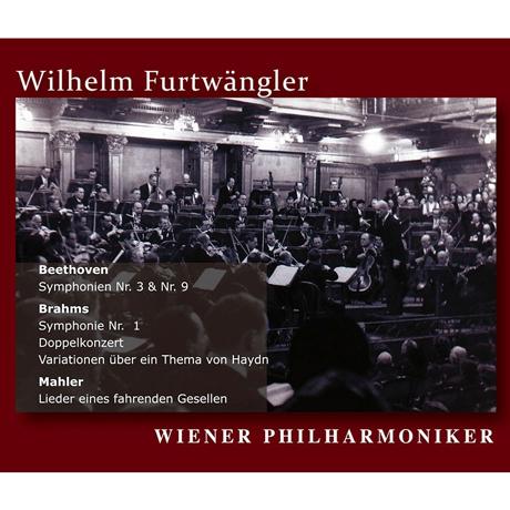 ORF GREAT RECORDINGS/ WILHELM FURTWANGLER [베토벤, 브람스, 말러: 빈필하모닉 ORF 전후 실황연주집 - 빌헬름 푸르트뱅글러] [알투스 레이블 창립 20주년 기획반]