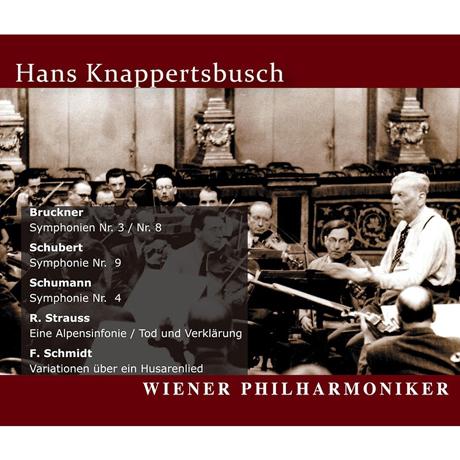ORF GREAT RECORDINGS/ HANS KNAPPERTSBUSCH [부르크너, 슈베르트, 슈만, 슈트라우스, 슈미트: ORF 전후 실황연주집 - 한스 크나퍼츠부쉬] [알투스 레이블 창립 20주년 기획반]