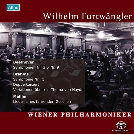 ORF GREAT RECORDINGS/ WILHELM FURTWANGLER [SACD HYBRID] [베토벤, 브람스, 말러: 빈필하모닉 ORF 전후 실황연주집 - 푸르트뱅글러] [알투스 레이블 창립 20주년 기획반]