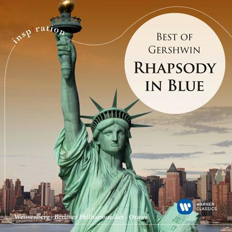 BEST OF GERSHWIN: RHAPSODY IN BLUE/ SEIJI OZAWA [INSPIRATION] [베스트 거쉬인: 랩소디 인 블루]