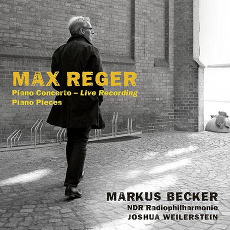 PIANO CONCERTO/ MARKUS BECKER, JOSHUA WEILERSTEIN [레거: 피아노 협주곡 - 마르쿠스 베커]
