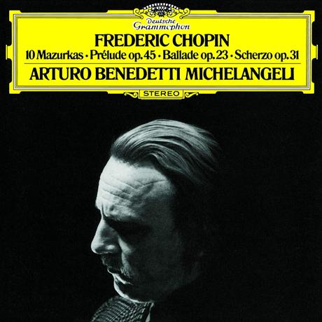 쇼팽: 10개의 마주르카, 전주곡, 발라드 & 스케르초 [UHQCD] - 아르투로 베네데티 미켈란젤리