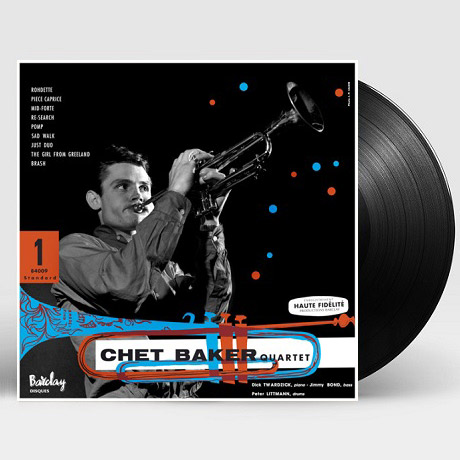 CHET BAKER IN PARIS VOL.1 [BARCLAY 1955] [180G LP]