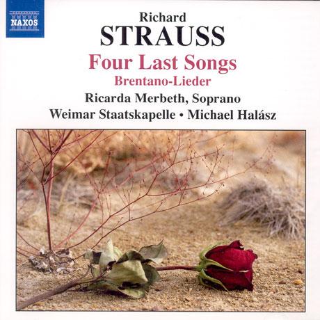FOUR LAST SONGS/ RICARDA MERBETH/ MICHAEL HALASZ