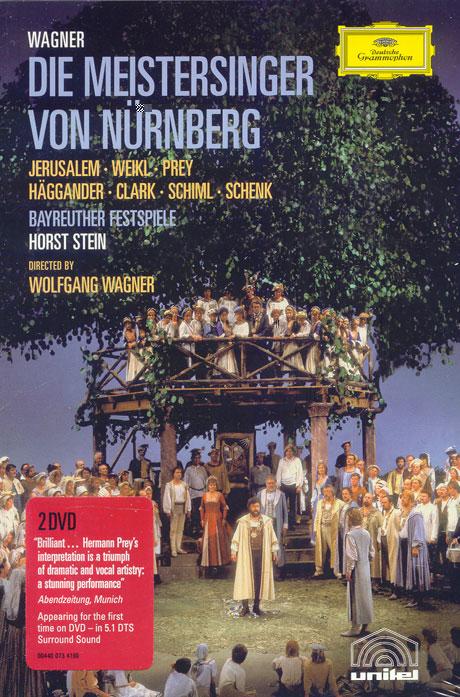 RICHARD WAGNER/ DIE MEISTERSINGER VON NURNBERG/ HORST STEIN