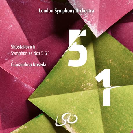 SYMPHONIES NOS.5 & 1/ GIANANDREA NOSEDA [SACD HYBRID] [쇼스타코비치: 교향곡 5 & 1번 - 노세다]
