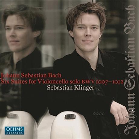 SIX SUITES FOR SOLO CELLO/ SEBASTIAN KLINGER [바흐: 무반주 첼로 모음곡 전곡 - 제바스티안 클링거]