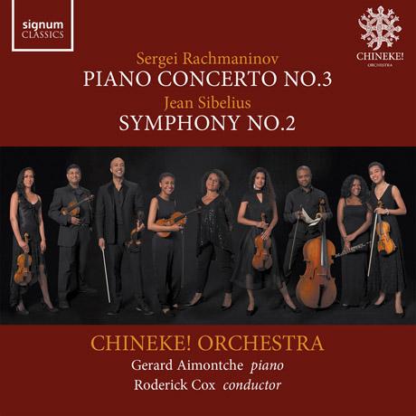 PIANO CONCERTO NO.3 & SYMPHONY NO.2/ GERARD AIMONTCHE, RODERICK COX [라흐마니노프: 피아노 협주곡 3번 & 시벨리우스: 교향곡 2번]