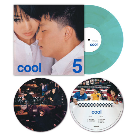 """5 [180G CLEAR SKY BLUE + 10"""" PICTURE DISC] [한정반]"""