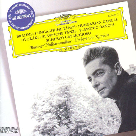 6 HUNGARIAN DANCES & 5 SLAVONIC DANCES/ HERBERT VON KARAJAN [THE ORIGINALS] [브람스: 헝가리 무곡 & 드보르작: 슬라브 무곡 - 카라얀]