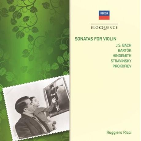 SONATAS FOR VIOLIN/ RUGGIERO RICCI, CARLO BUSSOTTI