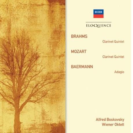 CLARINET QUINTETS & ADAGIO/ ALFRED BOSKOVSKY, WIENER OKTETT