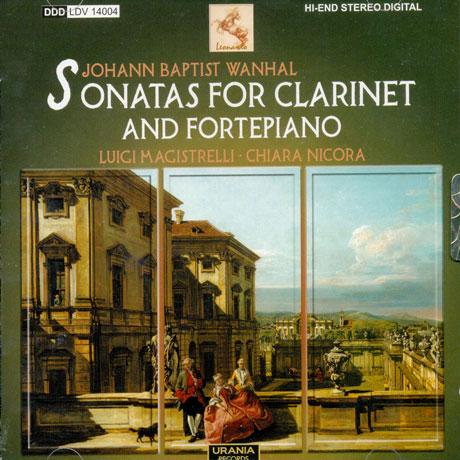SONATAS FOR CLARINET AND FORTEPIANO/ LUIGI MAGISTRELLI, CHIARA NICORA