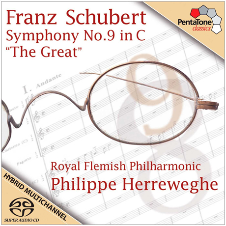 SYMPHONY NO.9 IN C `THE GREAT`/ PHILIPPE HERREWEGHE [SACD HYBRID]