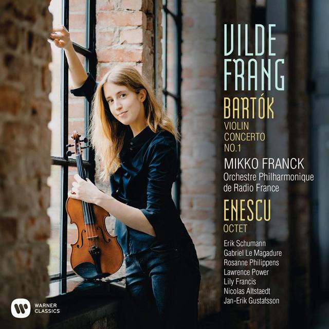 VIOLIN CONCERTO NO.1 & OCTET FOR STRINGS/ MIKKO FRANCK, VILDE FRANG [바르톡: 바이올린 협주곡 1번 & 에네스쿠: 8중주 - 빌데 프랑]