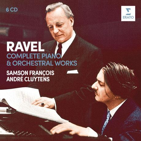 COMPLETE PIANO & ORCHESTRAL WORKS/ SAMSON FRANCOIS, ANDRE CLUYTENS [라벨: 피아노와 오케스트라를 위한 작품 전집 - 프랑스와, 클뤼탕스]