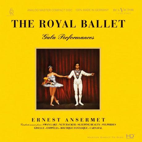 THE ROYAL BALLET: GALA PERFORMANCES/ ERNEST ANSERMET [HD MASTERING][로열 발레단 갈라 퍼포먼스: 에르네스트 앙세르메]
