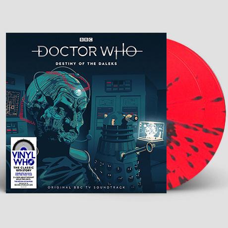 DOCTOR WHO: DESTINY OF THE DALEKS [닥터 후: 달렉의 운명] [RED&BLUE SPLATTER] [180G LP]