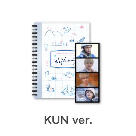 [KUN(쿤)] 코멘터리북+필름SET - WAYVISION 2 [동계 스포츠 채널]