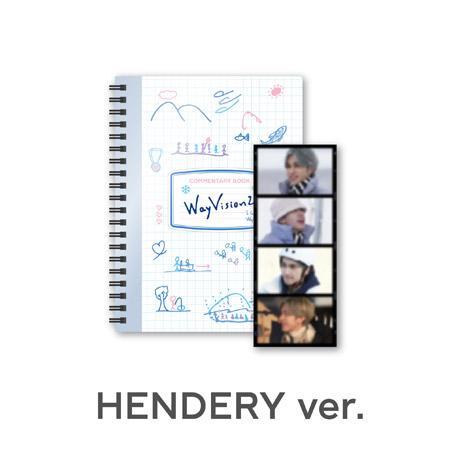 [HENDERY(헨드리)] 코멘터리북+필름SET - WAYVISION 2 [동계 스포츠 채널]