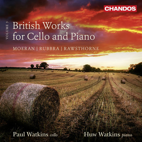 BRITISH WORKS FOR CELLO AND PIANO VOLUME 3/ PAUL WATKINS, HUW WATKINS