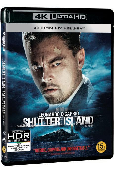 셔터 아일랜드 4K UHD+BD [SHUTTER ISLAND] [19년 11월 블랙프라이데이 가격인하]