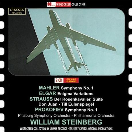 SYMPHONY NO.1 ETC/ WILLIAM STEINBERG