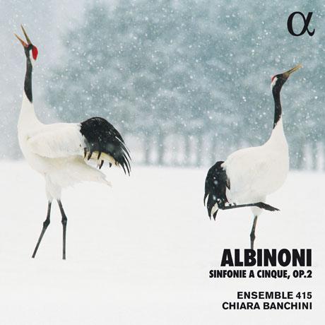 SINFONIE A CINQUE OP.2/ ENSEMBLE 415, CHIARA BANCHINI [ALPHA COLLECTION 57] [알비노니: 현을 위한 소나타 - 키아라 반키니]
