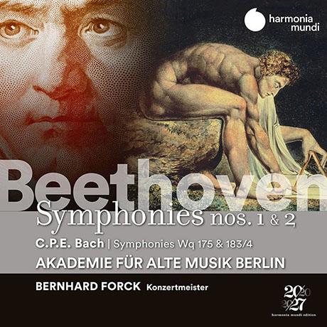 베토벤 - 교향곡 1 & 2번 / C.P.E. 바흐 - 교향곡집 WQ 175 & 183 NO.4