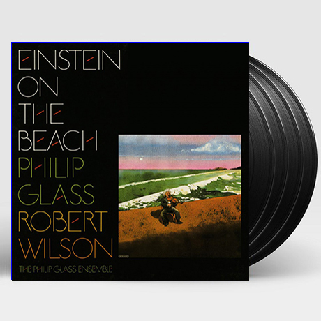 EINSTEIN ON THE BEACH/ PHILIP GLASS ENSEMBLE [180G LP] [한정반]