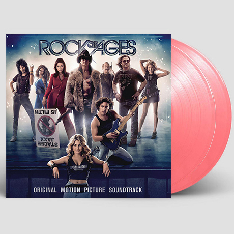 ROCK OF AGES [락 오브 에이지] [180G CLEAR PINK LP] [한정반]