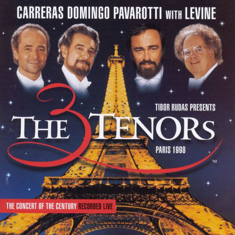 3 TENORS IN PARIS 1998/ JAMES LEVINE [카라레스, 도밍고, 파바로티: 쓰리테너 인 파리]