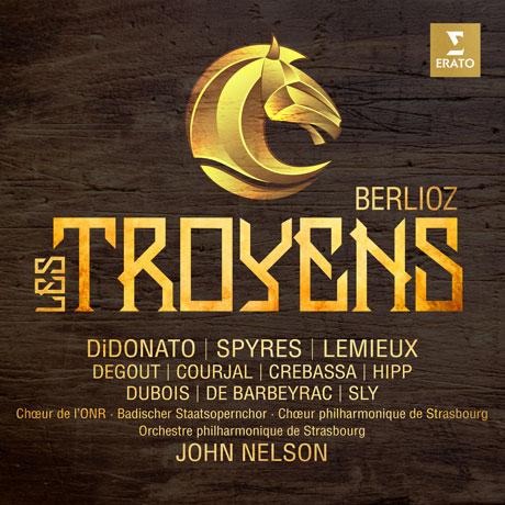 LES TROYENS/ JOHN NELSON [4CD+DVD] [베를리오즈: 트로이인 - 존 넬슨]