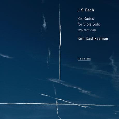 SIX SUITES FOR VIOLA SOLO/ KIM KASHIKASHIAN [바흐: 무반주 비올라 모음곡 - 킴 카슈카쉬안]